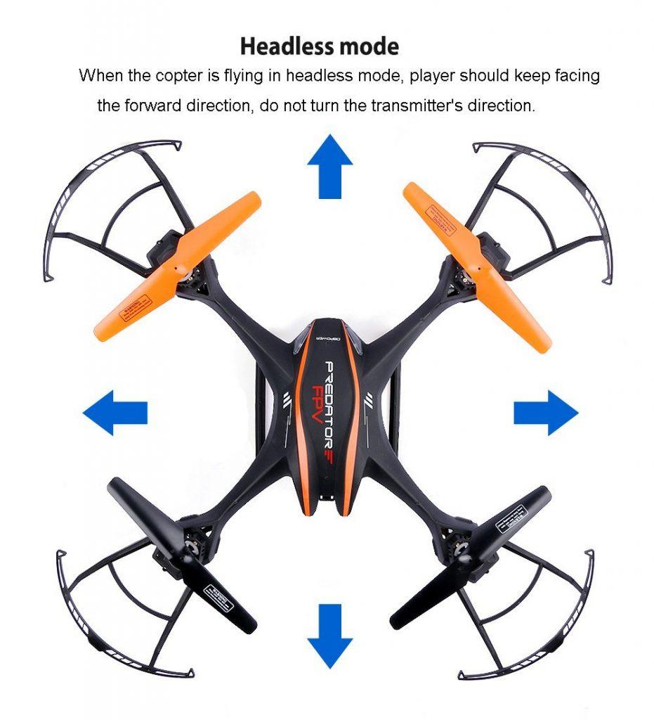 UDI U842 Predator Quadcopter