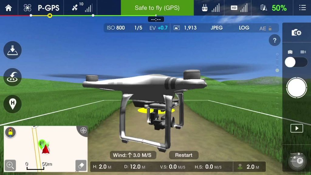 How To Learn Flying With Drone Simulator - Fit Drones